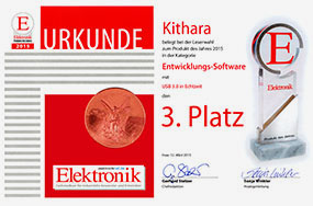 Kithara Software Again Honored with Innovation Award